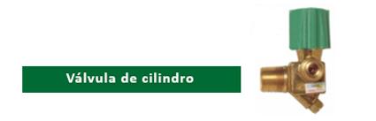 Válvula de cilindro KIT GÁS