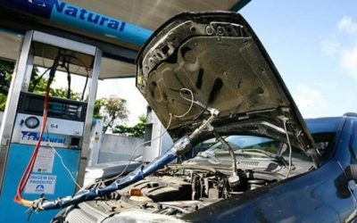 Economia ao rodar com o Kit gás chega a 58%