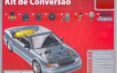 Motoristas intensificam conversão de carros para kit gás GNV